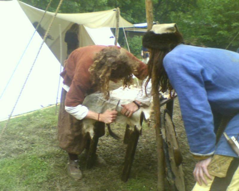 Journées Vikings archéosite de Marle - Mai 2009 20090510
