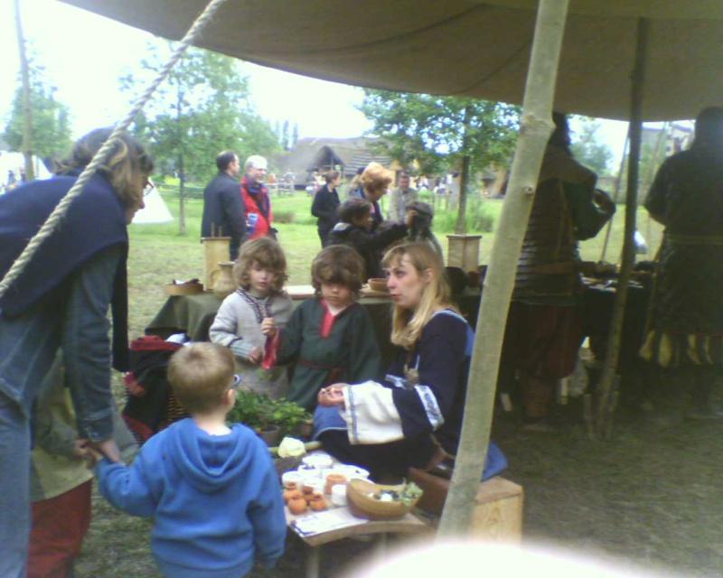 Journées Vikings archéosite de Marle - Mai 2009 20090511