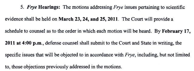 Frye Hearings, March 23 - 24, 2011, 9:00 AM File0010