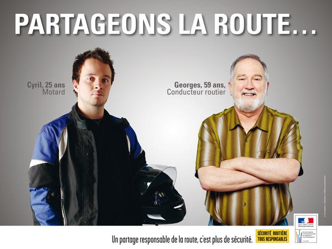 SECURITE ROUTIERE: Campagne de sécurité Partag10