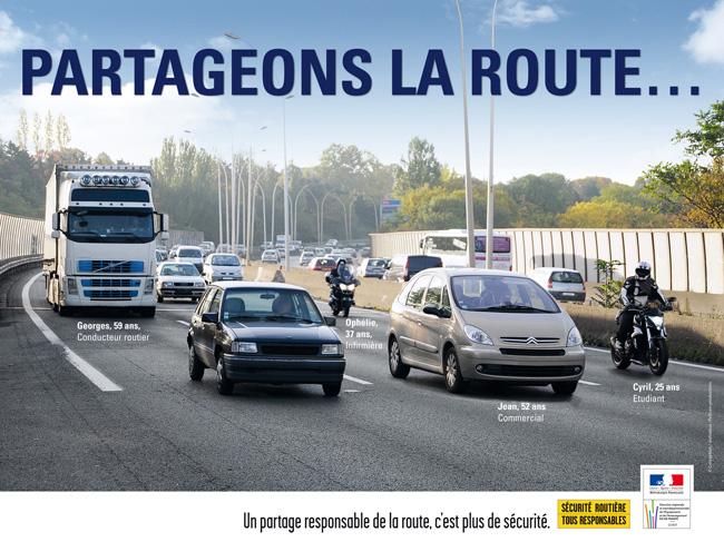 SECURITE ROUTIERE: Campagne de sécurité Partag12