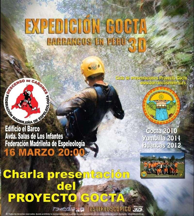charla presentación del proyecto Gocta Cartel10