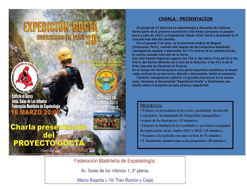 charla presentación del proyecto Gocta Charla10