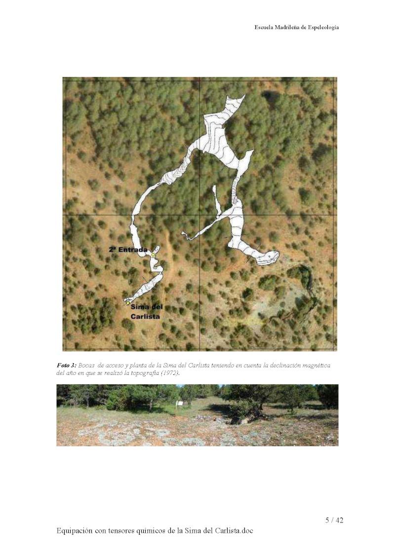 Sima del Carlista en Río Lobos Equipa13