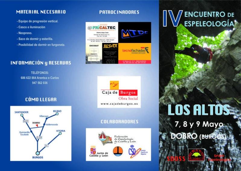 IV encuentro de espeleología Los Altos Tripti10