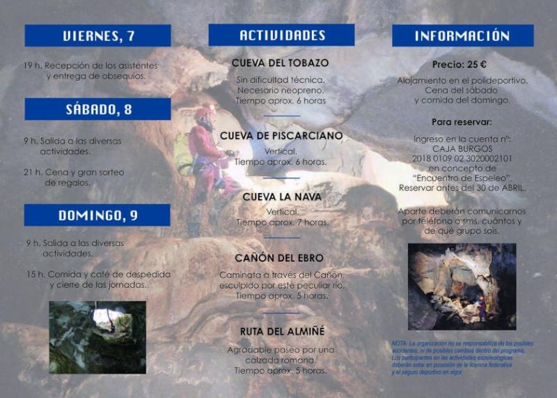 IV encuentro de espeleología Los Altos Tripti11