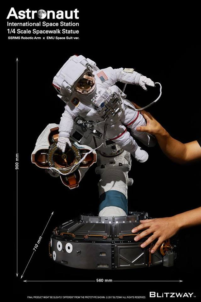 Figurine BLITZWAY ASTRONAUT EVA - Ech 1/4 25152010