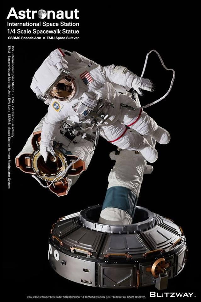 Figurine BLITZWAY ASTRONAUT EVA - Ech 1/4 25289410