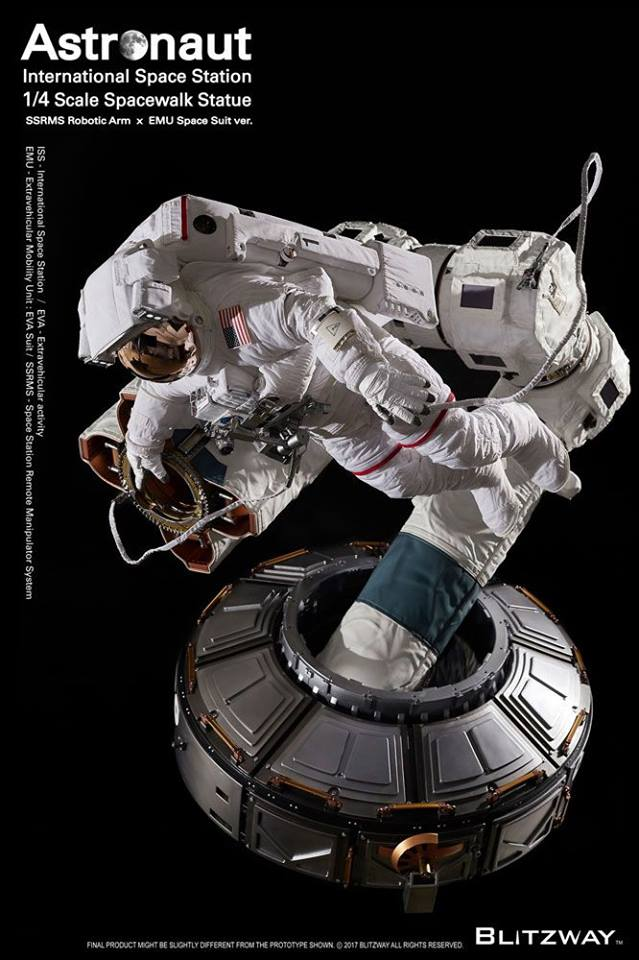 Figurine BLITZWAY ASTRONAUT EVA - Ech 1/4 25396010
