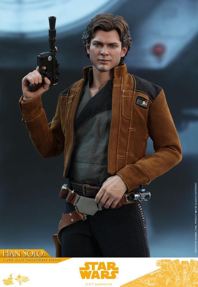 MMS491 & MMS492 DELUXE VERSION: SOLO A STAR WARS STORY - HAN SOLO 29570310