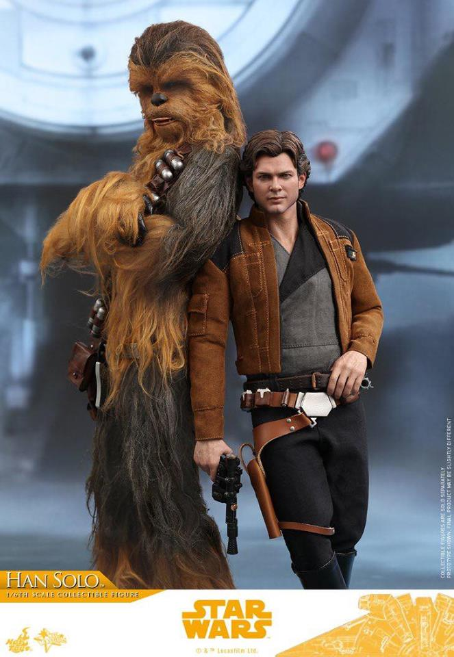 MMS491 & MMS492 DELUXE VERSION: SOLO A STAR WARS STORY - HAN SOLO 33156210