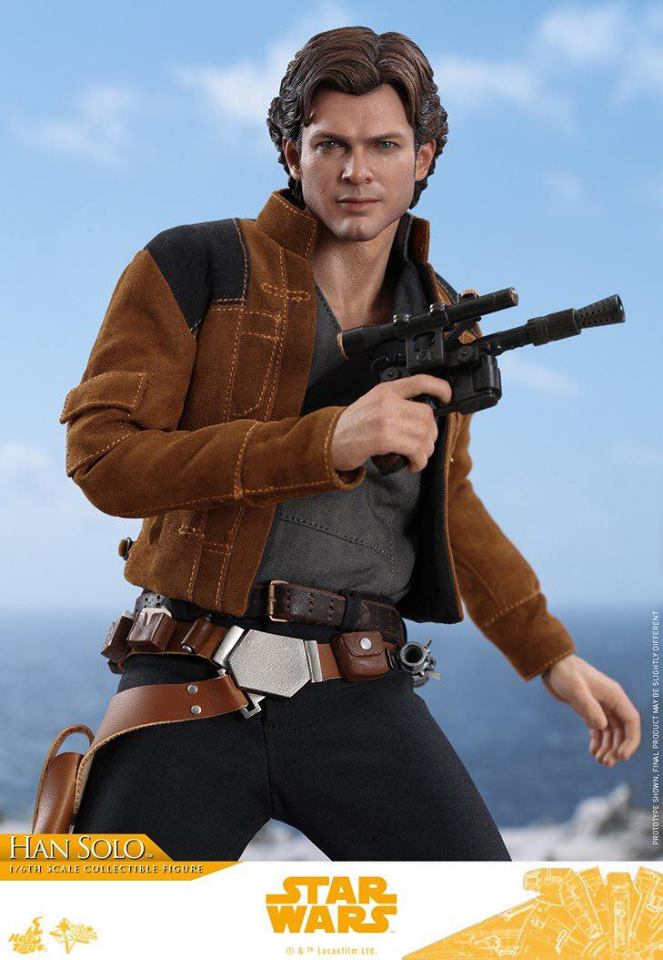 MMS491 & MMS492 DELUXE VERSION: SOLO A STAR WARS STORY - HAN SOLO 33164910