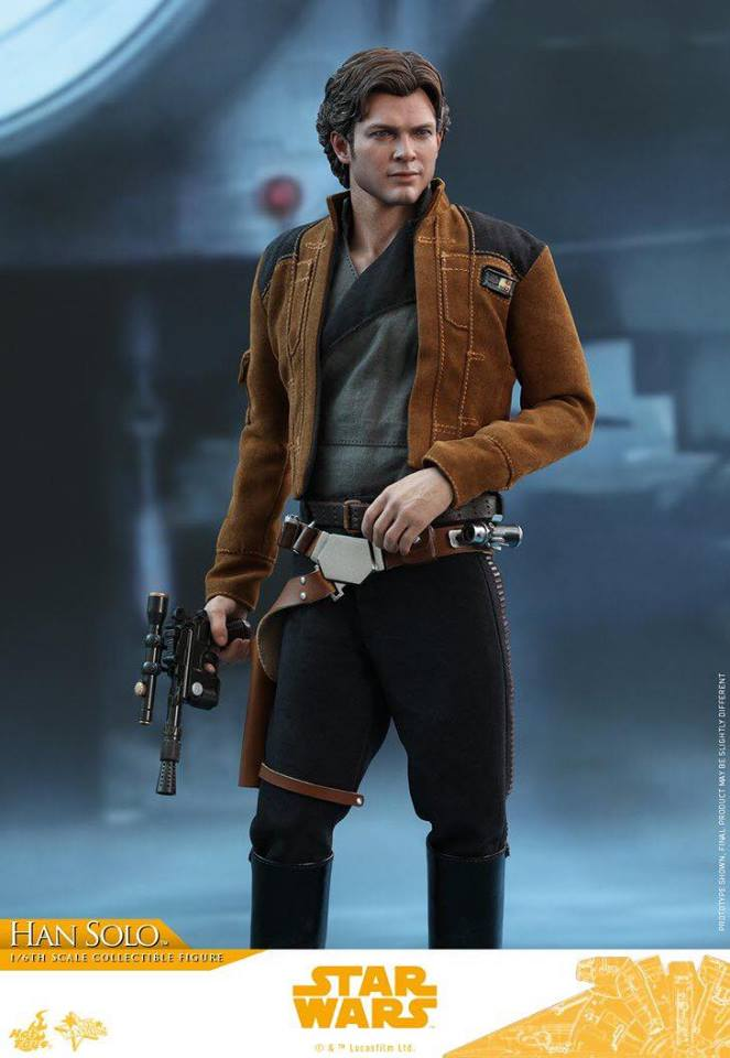 MMS491 & MMS492 DELUXE VERSION: SOLO A STAR WARS STORY - HAN SOLO 33193210