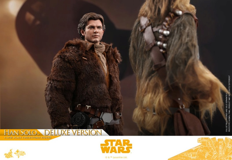 MMS491 & MMS492 DELUXE VERSION: SOLO A STAR WARS STORY - HAN SOLO 33245510