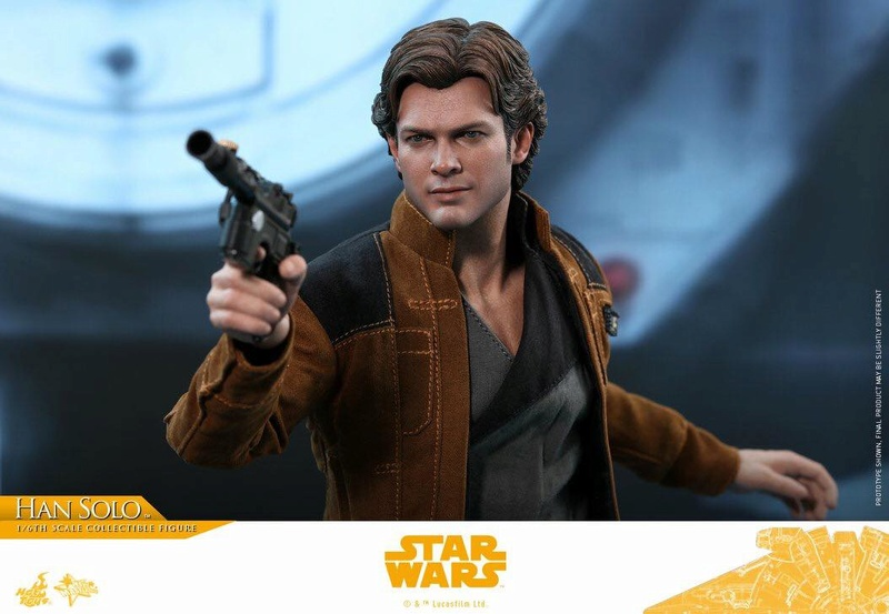 MMS491 & MMS492 DELUXE VERSION: SOLO A STAR WARS STORY - HAN SOLO 33311110
