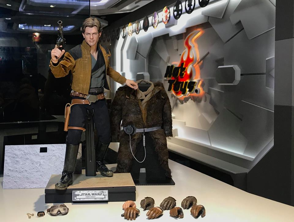MMS491 & MMS492 DELUXE VERSION: SOLO A STAR WARS STORY - HAN SOLO 33340910