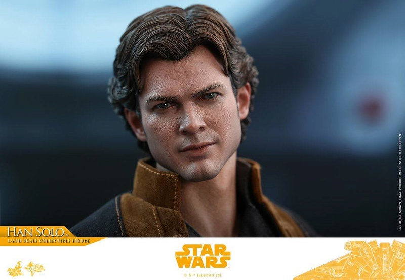 MMS491 & MMS492 DELUXE VERSION: SOLO A STAR WARS STORY - HAN SOLO 33402310