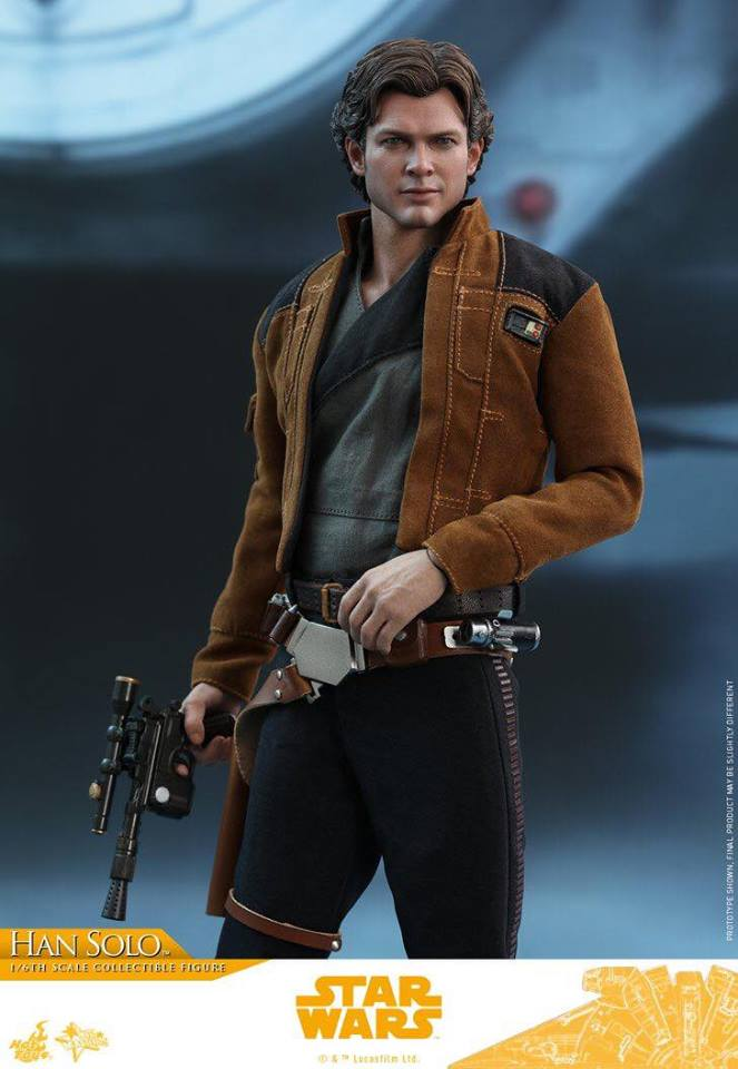 MMS491 & MMS492 DELUXE VERSION: SOLO A STAR WARS STORY - HAN SOLO 33486710