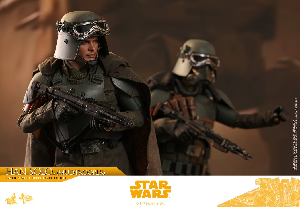MMS493: SOLO A STAR WARS STORY - HAN SOLO MUDTROOPER 34034410