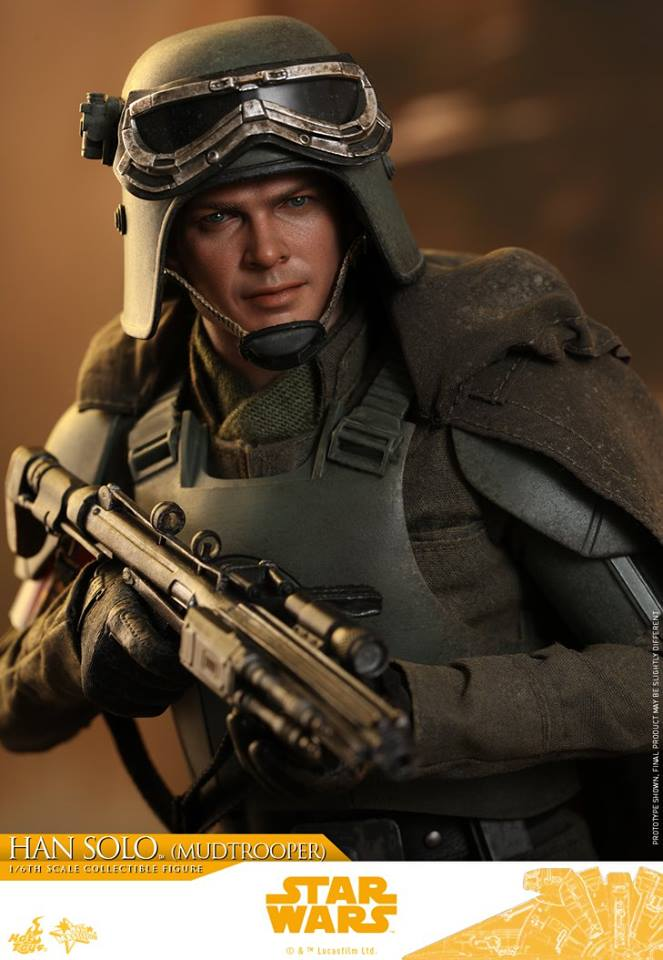 MMS493: SOLO A STAR WARS STORY - HAN SOLO MUDTROOPER 34063810