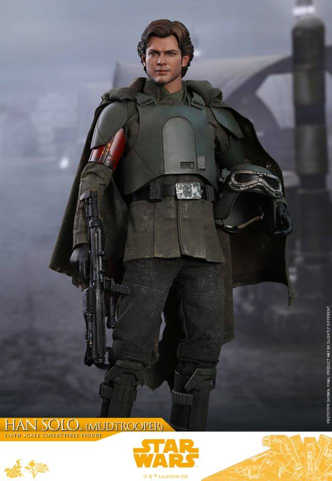 MMS493: SOLO A STAR WARS STORY - HAN SOLO MUDTROOPER 34070210