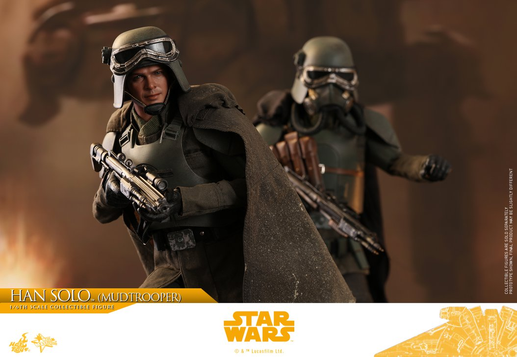 MMS493: SOLO A STAR WARS STORY - HAN SOLO MUDTROOPER 34072510