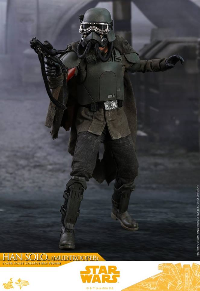 MMS493: SOLO A STAR WARS STORY - HAN SOLO MUDTROOPER 34092110