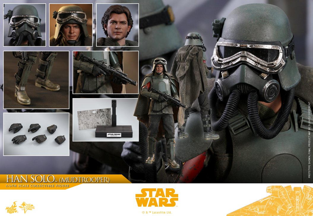 MMS493: SOLO A STAR WARS STORY - HAN SOLO MUDTROOPER 34118810