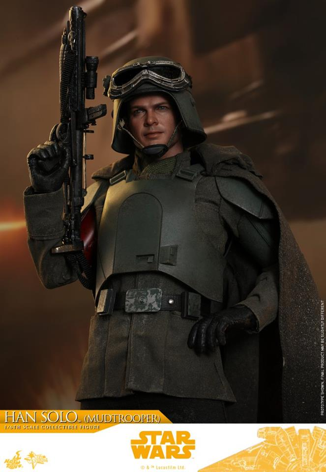 MMS493: SOLO A STAR WARS STORY - HAN SOLO MUDTROOPER 34132510