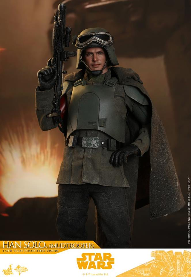 MMS493: SOLO A STAR WARS STORY - HAN SOLO MUDTROOPER 34132810