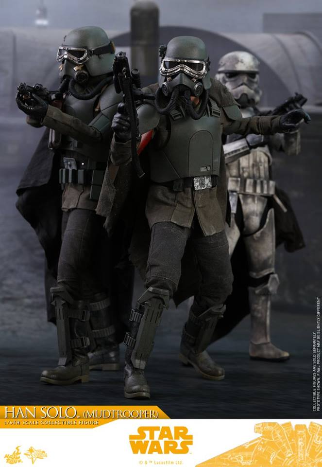 MMS493: SOLO A STAR WARS STORY - HAN SOLO MUDTROOPER 34136610