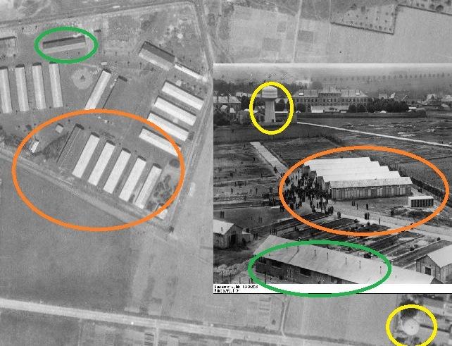 Plan original du camp d'internement de PITHIVIERS Captur22