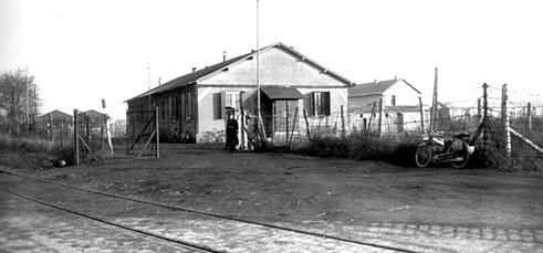Plan original du camp d'internement de PITHIVIERS Entrye10