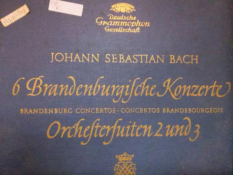 Info sul valore di vinili musica classica Bach10
