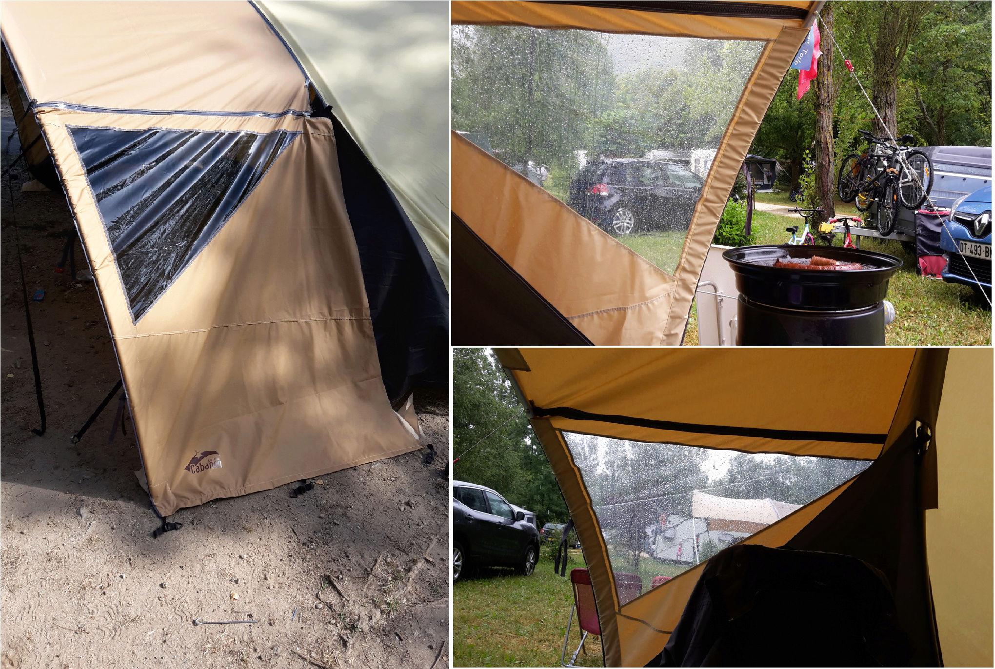 Long séjour sous une tente tunnel karsten  Joues10