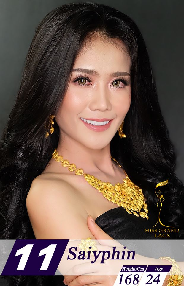Miss Grand LAOS 2018 - results 1129