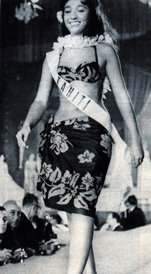 Miss Tahiti 1962 - Catherine (Cathy) Banner 14708110