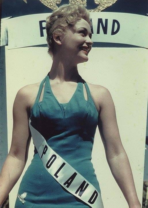 Miss Polonia 1958: Alicja Bobrowska (4th Runner Up MU58) 16602610