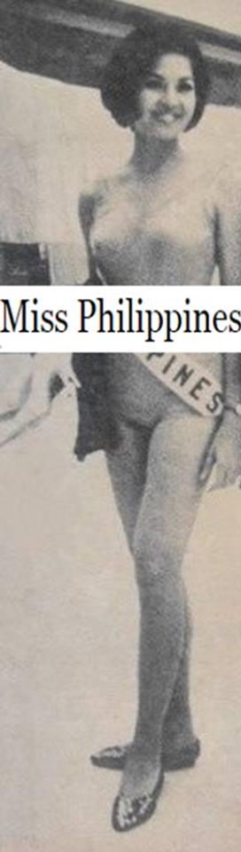 Binibining Pilipinas Universe 1966: Maria Clarinda Garces Soriano  (MU 66' Semifinalist) 16681610
