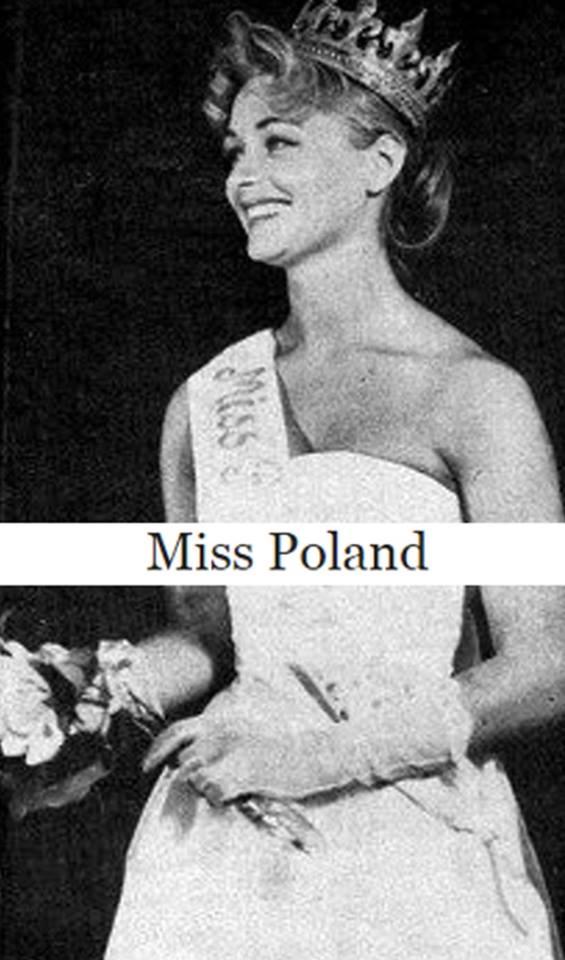 Miss Polonia 1958: Alicja Bobrowska (4th Runner Up MU58) 16681815