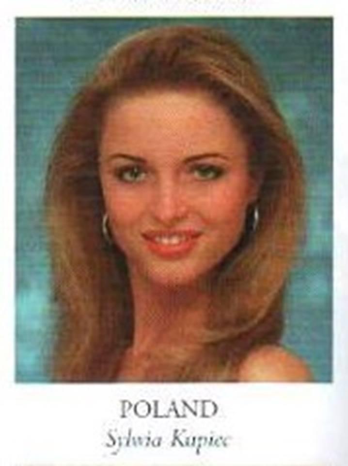 Miss Poland Universe 1998 - Sylwia Malgorzata Kupiec 16682012