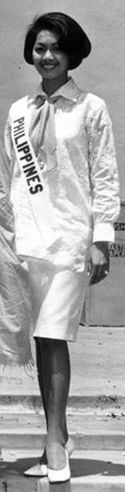 Binibining Pilipinas Universe 1964: Maria Myrna Sese Panlilio 16683813