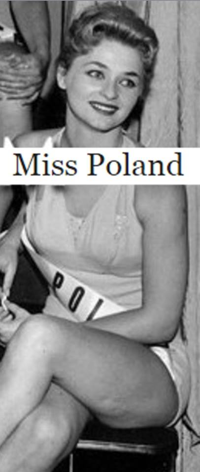 Miss Polonia 1958: Alicja Bobrowska (4th Runner Up MU58) 16684310
