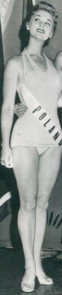 Miss Polonia 1958: Alicja Bobrowska (4th Runner Up MU58) 16708110