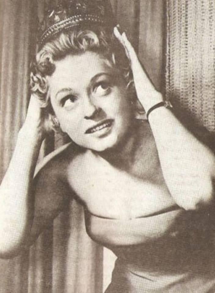 Miss Polonia 1958: Alicja Bobrowska (4th Runner Up MU58) 16708212