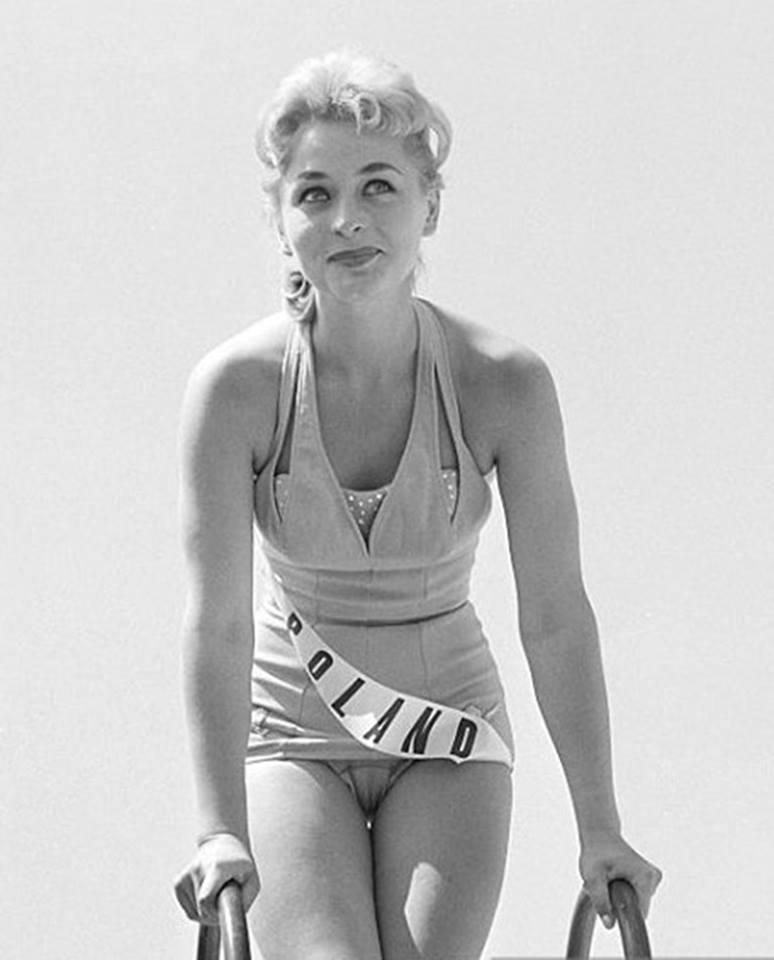 Miss Polonia 1958: Alicja Bobrowska (4th Runner Up MU58) 16711610
