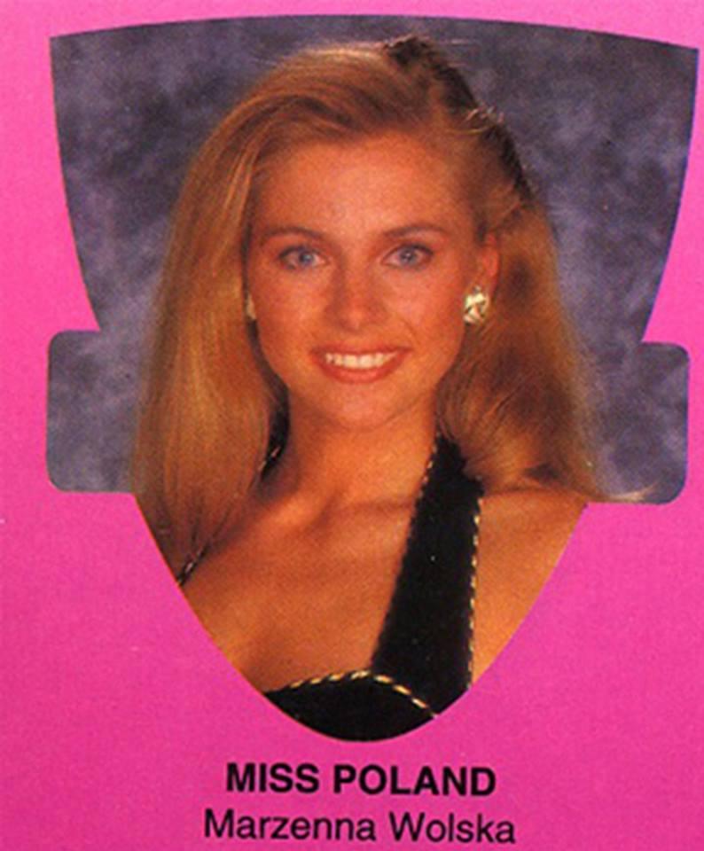 Miss Polonia 1993:  Marzena Wolska 16712012