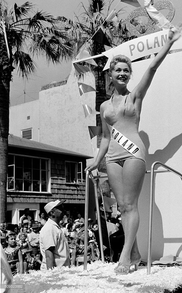 Miss Polonia 1958: Alicja Bobrowska (4th Runner Up MU58) 16729310