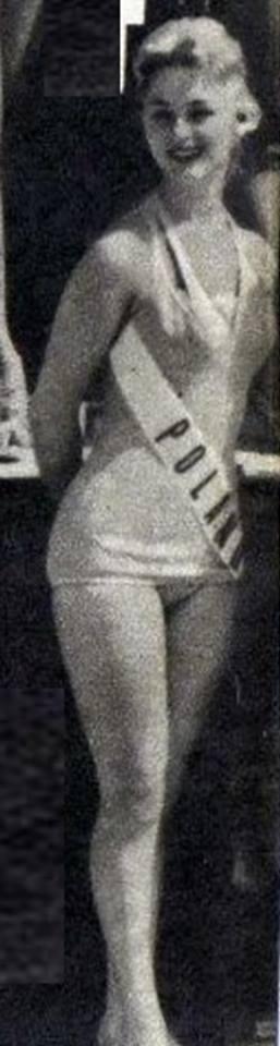 Miss Polonia 1958: Alicja Bobrowska (4th Runner Up MU58) 16729510