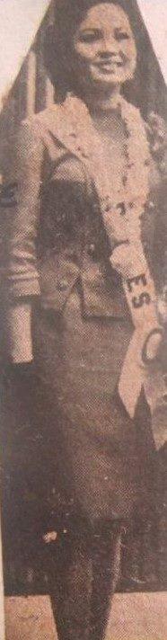Binibining Pilipinas Universe 1966: Maria Clarinda Garces Soriano  (MU 66' Semifinalist) 16806710